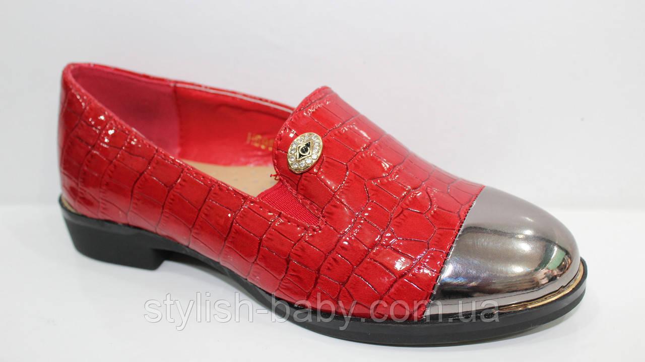 Школьная обувь оптом. Детские туфли бренда Леопард для девочек (рр. с 27 по 32)