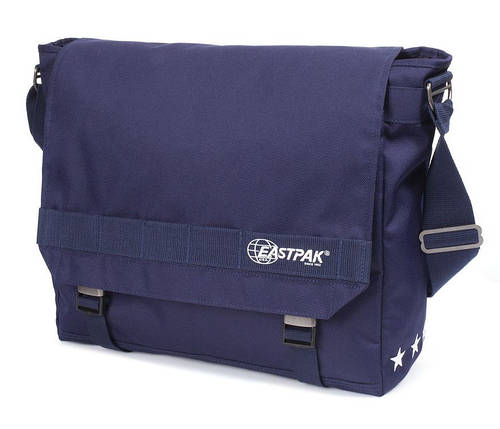 """Удобная сумка для ноутбука 15"""" 20 л. Claster Eastpak EK11A53H синий"""