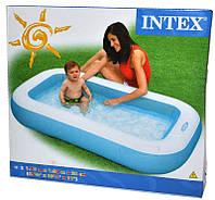 Семейный надувной бассейн в дом Intex