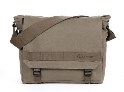 """Практичная сумка для ноутбука 15"""" 20 л. Claster Eastpak EK11A57G хаки"""
