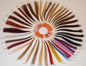 Волосы на трессе искусственные 100г 55см