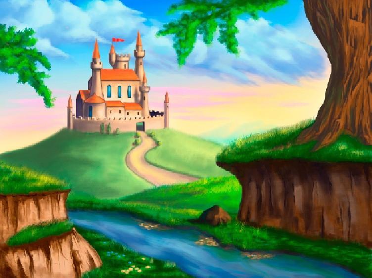 Фотообои Сказочный замок