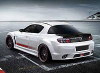 Бампер задний Mazda RX8