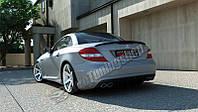 Бампер задний Mercedes SLK-class R171