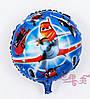Фольгированный воздушный шарик Летачки синий