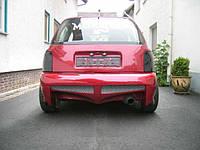 Бампер задний Nissan Micra
