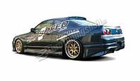Бампер задний Nissan Skyline R33