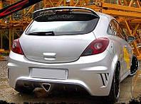 Бампер задний Opel Corsa D
