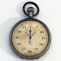 Lemania pocket watch секундомер
