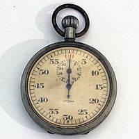 Lemania винтажный секундомер Швейцария
