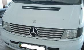 Накладки на решётку радиатора Mercedes Vito W638 (10 частей)