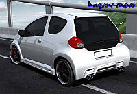 Бампер задний Toyota Aygo