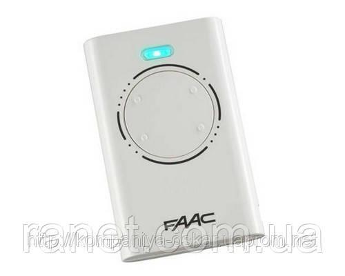 Пульт для ворот Фаак FAAC 4-х канальный XT4 868SLH