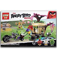 """Конструктор Angry Birds Lepin 19003 (аналог LEGO 75823) """"Кража яиц с Птичьего острова"""", 305 дет."""