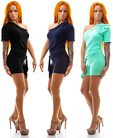 Комбинезон женский (3 цвета) шортики