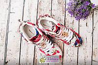 Сникерсы женские цветные р. 39,40