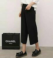 Широкие брюки-капри