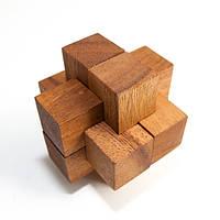 Деревянная головоломка Колючка