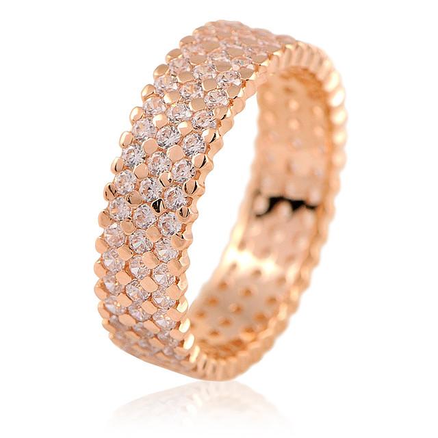 e7db4e330d4 Купить Золотое кольцо с фианитами - 3000 грн недорого в Украине