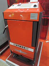 Отопительный пиролизный котел на твердом топливе  Atmos D 20 площадь обогрева помещения до 200 м2, фото 2