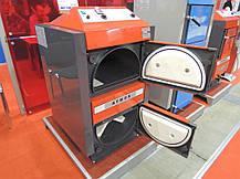 Отопительный пиролизный котел на твердом топливе  Atmos D 20 площадь обогрева помещения до 200 м2, фото 3