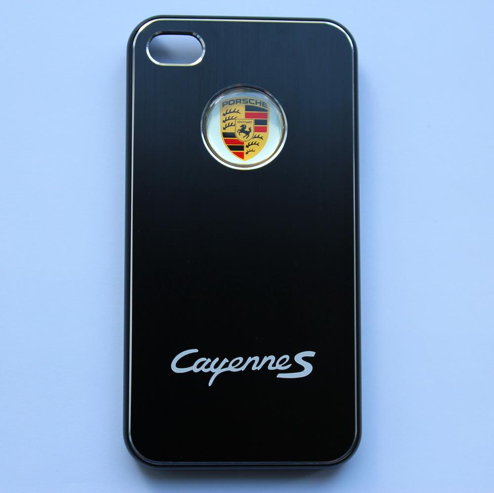 Чехлы для iPhone 4 4S Porsche Cayenne S металлические