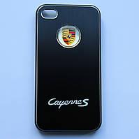 Чехлы для iPhone 4 4S Porsche Cayenne S металлические, фото 1