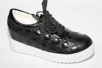Модные лаковые туфли(слипоны) на девочек ТМ Леопард (разм. с 33-по 38 )
