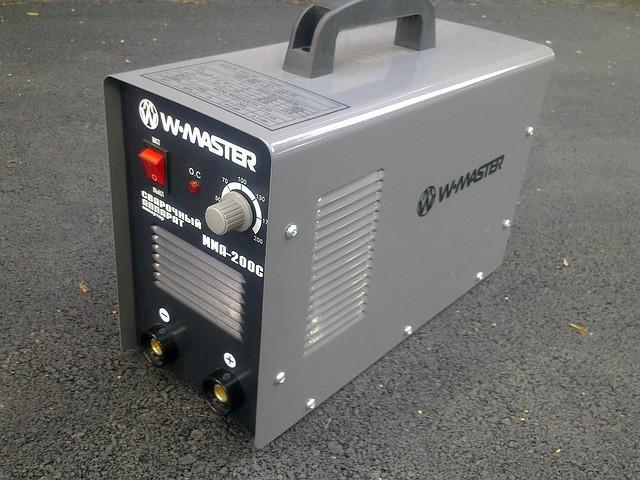 Сварочный инвертор W.MASTER MMA-200