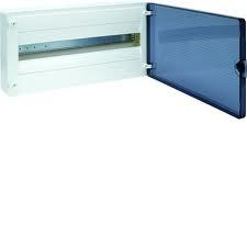 Щит наружной установки с прозрачной дверью, 22 мод. Hager GOLF VS122TD