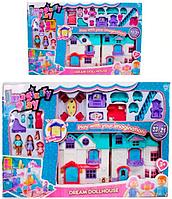 Игрушечный домик для кукол DREAM Dollhouse 1205AB КК, HN