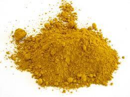 Охра желтая сухая О-2 для красок и эмалей (пакет 3 кг)