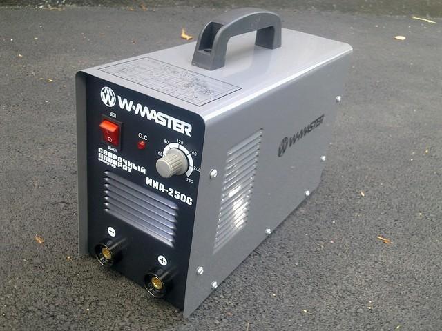 Сварочный инвертор WMaster MMA-250