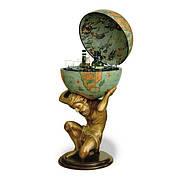 Глобус-бар Atlas D:50cm 50*106cm зеленый Zoffoli