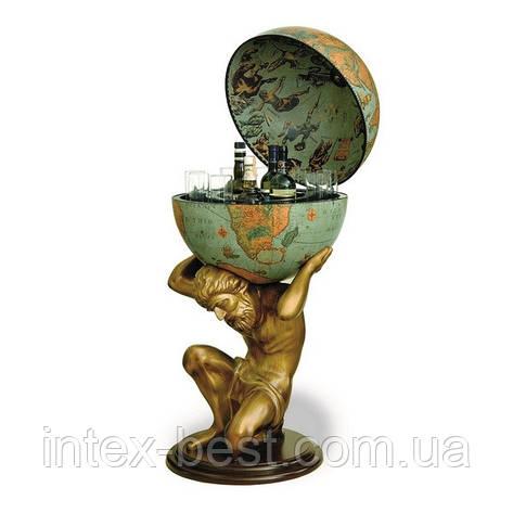 Глобус-бар Atlas D:50cm 50*106cm зеленый Zoffoli, фото 2