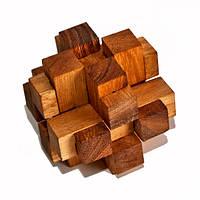 Деревянная головоломка 3D Куб