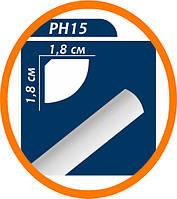 Плинтус потолочный Premium decor PH15 2 м (18*18)