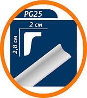 Плинтус потолочны�� Premium decor PG25(MO) 2 м (28*20)