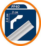 Плинтус потолоч��ый Premium decor PF40(MF) 2 м (36*30)