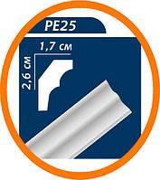 Плинтус потолочны�� Premium decor PE25(ME) 2 м (26*17)