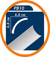 Плинтус потолоч��ый Premium decor PB10(B1) 2 м (68*68)