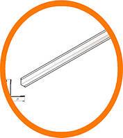 Г-образный Угловой элемент белый АМТТ 30/25мм, 3м