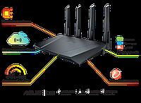 Роутер Asus RT-AC87U 802.11ac, Dual Band, Gigabit, 1xUSB 3.0, 1xUSB 2.0