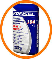 104 Kreisel Клеевая смесь для плитки эластичная, 25 кг