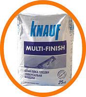 Мульти-Финиш Кнауф, шпаклевка гипсовая, 25 кг