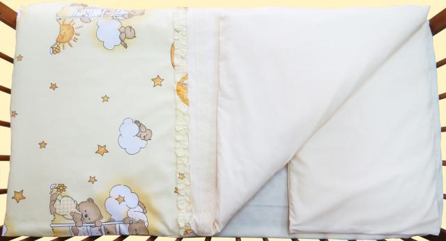 Одеяло и подушка «Домик для мишки»