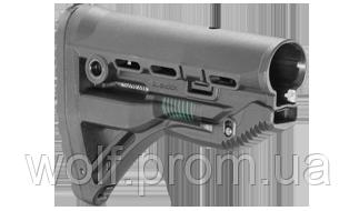 Полимерный приклад с компенсатором отдачи для AR15/M4/M16 Fab Defense