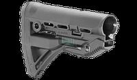 Полимерный приклад с компенсатором отдачи для AR15/M4/M16 Fab Defense, фото 1