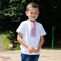 Футболка хлопчача Чумацька червон., 152