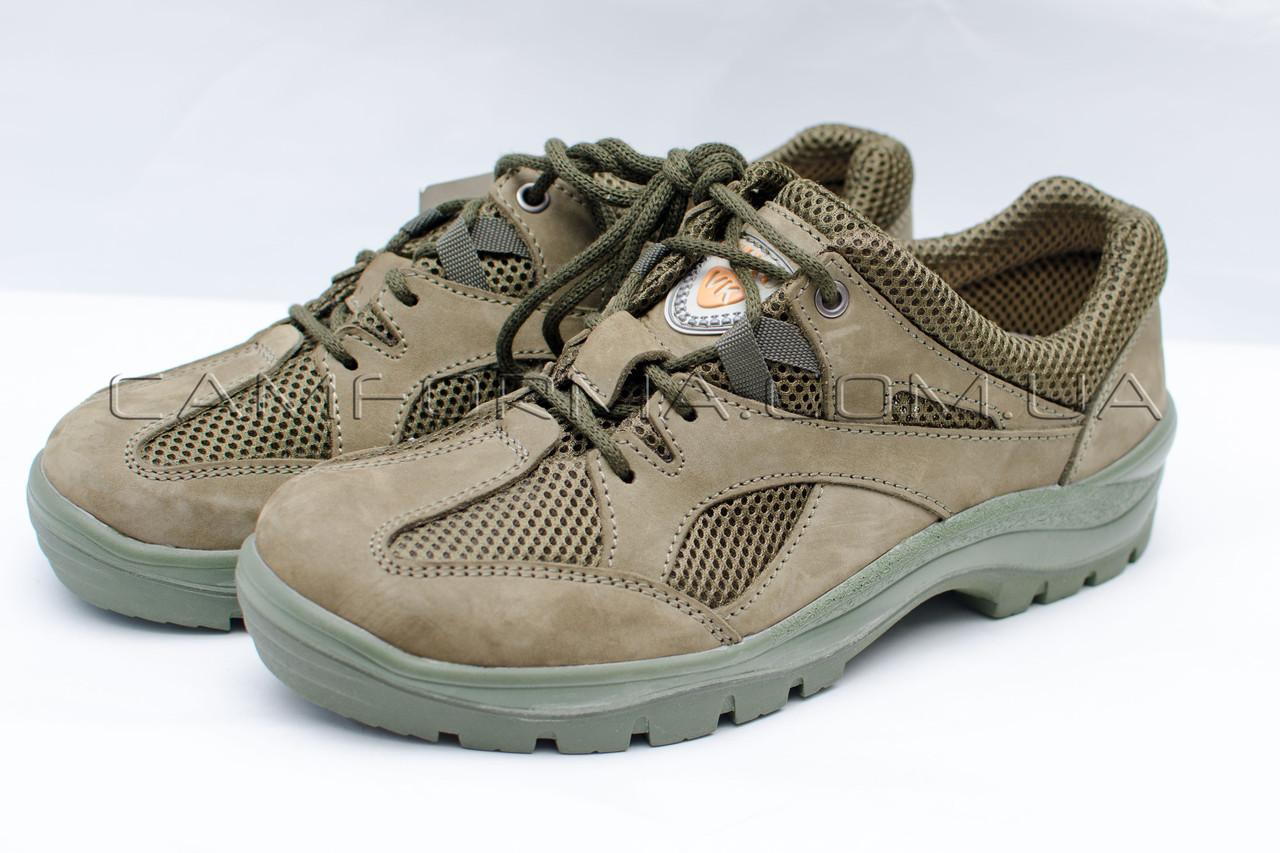 Тактические кросовки нубук ОЛИВА